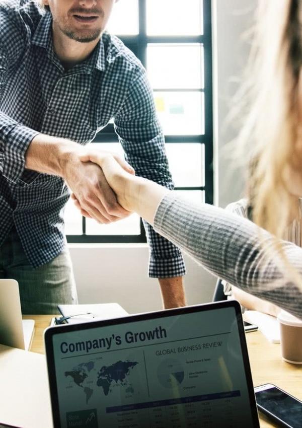 Corporate Hand shake